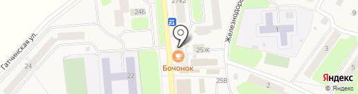 Парикмахерская на карте Коммунара