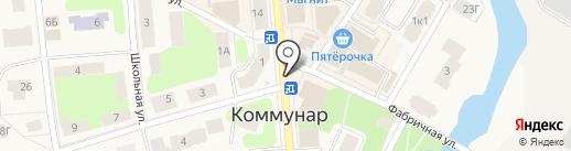 Кафе-пекарня на карте Коммунара