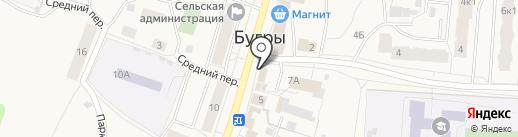 БУК, МУП на карте Бугров