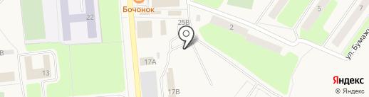 Автостоянка на карте Коммунара