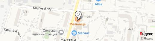 Социальная аптека на карте Бугров
