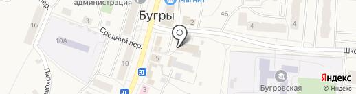 География на карте Бугров