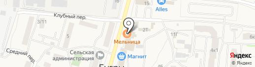 Элекснет на карте Бугров
