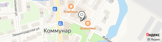 Концепт СПБ на карте Коммунара