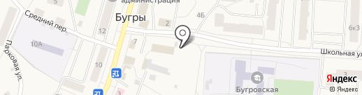 Автомойка на Шоссейной (Всеволожский район) на карте Бугров