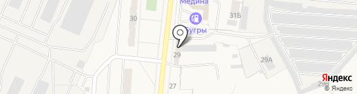Магазин инструментов на Шоссейной на карте Бугров