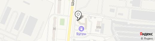 А+ на карте Бугров