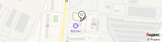 Автомойка на карте Бугров
