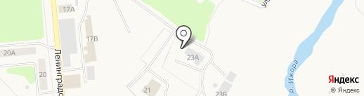 Коммунарские электрические сети на карте Коммунара