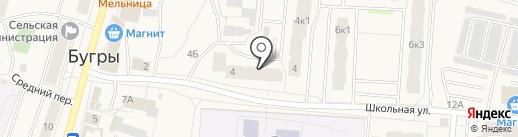 Созвездие недвижимости на карте Бугров