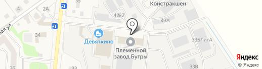 ИПС на карте Бугров