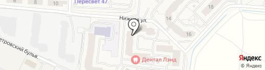Хеликс на карте Бугров