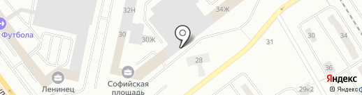 СМК на карте Санкт-Петербурга