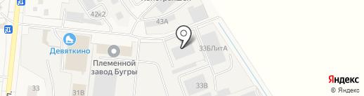 АТЦ Север на карте Бугров