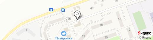 Мария на карте Коммунара