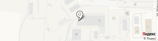 ГЛАВ СВАИ СПБ на карте Бугров
