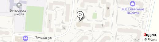 Хмель Солод на карте Бугров
