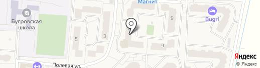 Полушка на карте Бугров