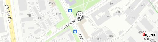 ИСПЫТАТЕЛЬНЫЙ ЦЕНТР ВНИИГС на карте Санкт-Петербурга