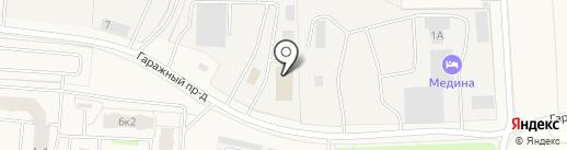 Crash-Avto на карте Бугров