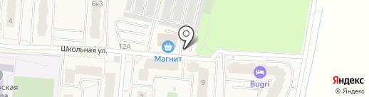 Магазин овощей и фруктов на карте Бугров