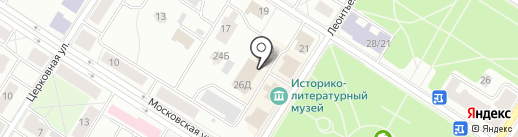 20 отряд ФПС по г. Санкт-Петербургу на карте Санкт-Петербурга