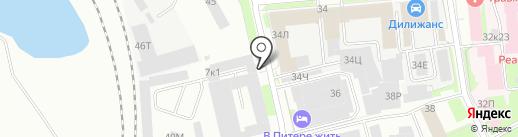 Санкт-Петербургское учебно-производственное предприятие №5 на карте Санкт-Петербурга