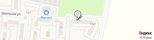 ЖЭС №4 на карте Бугров