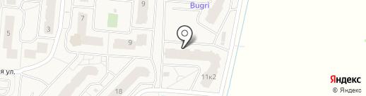 Пивной квартал на карте Бугров