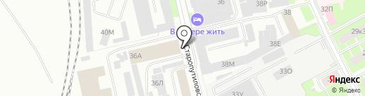Окуловский завод мебельной фурнитуры, ЗАО на карте Санкт-Петербурга