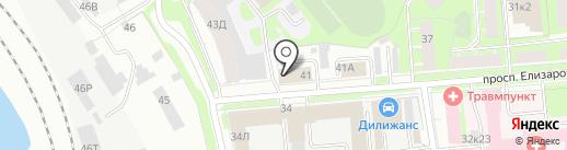 ДИП на карте Санкт-Петербурга