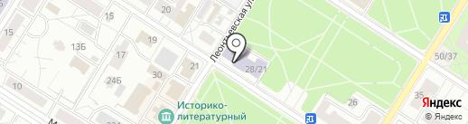 Дворец творчества на карте Санкт-Петербурга