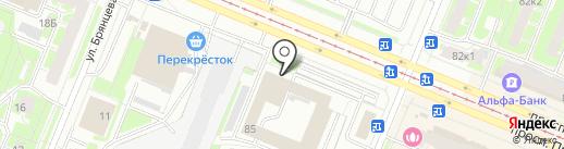 Новатек на карте Санкт-Петербурга