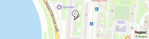 Производственная фирма на карте Санкт-Петербурга