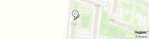 UP! Светлановский на карте Мурино