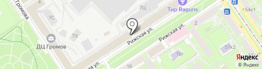 Магитэк на карте Санкт-Петербурга