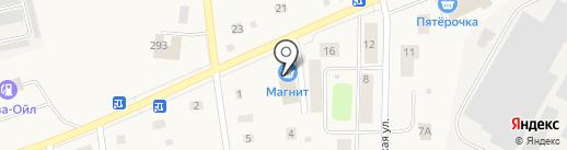 Магнит на карте Коммунара