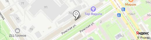НевСтройПроект на карте Санкт-Петербурга