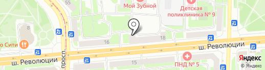 Инжектор спорт на карте Санкт-Петербурга