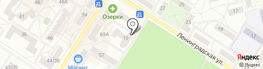 ПолАн на карте Санкт-Петербурга