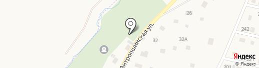 Столярная мастерская на карте Коммунара