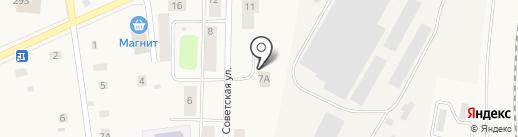 Баня на карте Коммунара