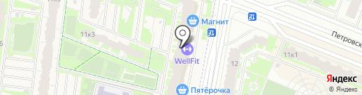 Магнит на карте Бугров