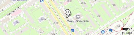 РОССТРО на карте Санкт-Петербурга
