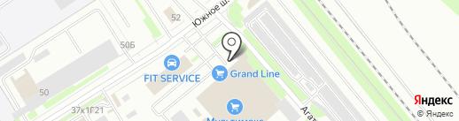Магазин крепежных изделий на карте Санкт-Петербурга