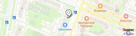 Авантаж на карте Мурино