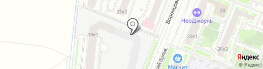 Материк на карте Мурино