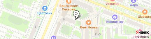 YouПитер на карте Мурино