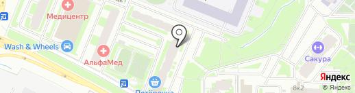 Платежный терминал, Петербургский социальный коммерческий банк на карте Мурино