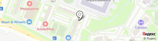 УшиЛапыХвост на карте Мурино